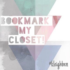 ✨Like This Listing To Bookmark My Closet✨